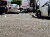 Develi Çomaklı'da Trafik kazası: 7 yaralı