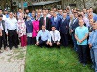 Başkan Esat Öztürk belediye personeli ile bayramlaştı