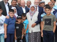 Başkan Çolakbayrakdar Ebiç Mahalesini ziyaret etti