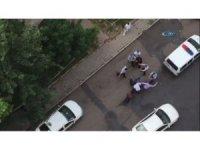 Sahabiye'de Sopalı kavgayı polis ayırdı