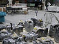 Kayseri'de Mobilya ve Yatak arasında uyuşturucu satan fabrikaya baskın