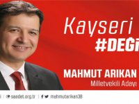 Saadet Partisi Kayseri Milletvekili Adayı Mahmut Arıkan
