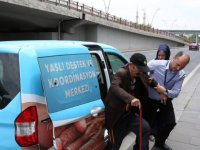 Kayseri Büyükşehir'den yaşlılara özel seçim hizmeti