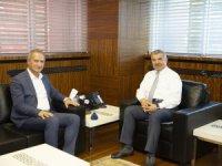 Kayseri İl Milli Eğitim Müdürü Ekinci Başkan Çelik'i ziyaret etti