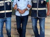 32 yıl hapis cezası bulunan şahıs yakınlarına ziyarete gelince yakalandı