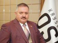 Kayseri OSB Yönetim Kurulu Başkanı Tahir Nursaçan'ın İSO İkinci 500 değerlendirmesi