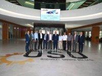Kayseri Ticaret Borsası Yönetim Kurulu Bağlamış ve Yönetim Kurulu Üyeleri OSB Ziyareti
