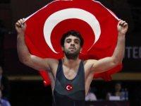 Kayseri Şekersporlu milli güreşçi Ekrem Öztürk Dünya Şampiyonasına adım adım ilerliyor