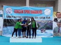 Yahyalı Belediyesi Rafting Takımı Türkiye 3'üncüsü oldu