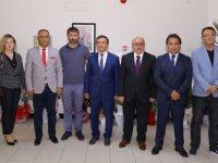 Kayseri Gazeteciler Cemiyeti'nden ERÜ Rektörü Çalış'a Ziyaret
