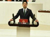 MHP Kayseri Milletvekili Özdemir, Bahçelik Barajı ve Sulama Projelerini Meclis gündemine taşıdı