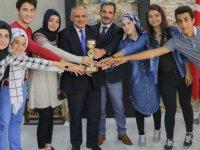 Yahyalı Belediyesi Rafting Takımından Başkan Öztürk'e Ziyaret