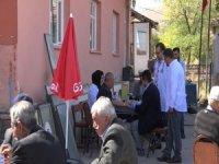 Tomarza'da 'Mobil Sağlık Evi' uygulaması başladı