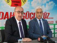 İl Kültür ve Turizm Müdürü İsmet Taymuş, Kayseri Gazeteciler Cemiyetini ziyaret etti