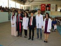 Erü'de Geleceğin doktorları beyaz önlüklerini giydi