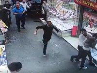 Kazancılar Çarşısında Bıçaklar Konuştu! Esnaf Canını Zor Kurtardı