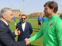 Büyükşehir'den Kayserispor'a 6 milyon TL'lik yatırım