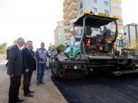 Talas'ta bağlantı yolları asfaltlanıyor