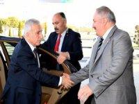 Vali Kamçı'dan Kayseri OSB Yönetim Kurulu Başkanı Nursaçan'a veda ziyaretinde bulundu