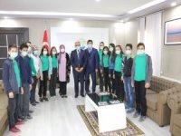 Öğrencilerden Başkan Öztürk'e Anlamlı Ziyaret