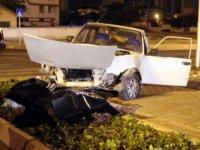 Kayseri'de iki otomobil çarpıştı: 1 ölü, 3 yaralı