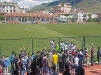 Argıncıkspor-Sindelhöyükspor maçında olaylar çıktı