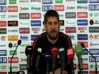 Ümit Davala, Kayserispor maçı sonrası açıklamalarda bulundu