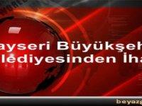 Kayseri Büyükşehir'den ihaleler