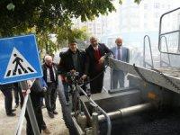 Başkan Çelik, Asfalt Çalışmalarını Yakından Takip Etti