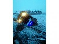 Askeri Kirpi Araçlar Kayseri'de Kaza Yaptı