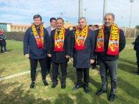 Mehmet Özhaseki,Hepimizin sevdası olan Kayserispor'u ziyarete geldim