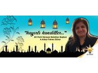 Ak Parti Bünyan Belediye Başkan A. Adayı Fatma Güner'den Mevlid Kandili Mesajı
