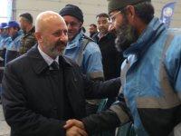Başkan Çolakbayrakdar belediye personeil ile biraraya geldi