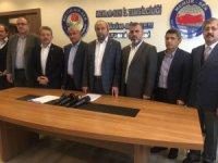 """Başkan Aydın Kalkan: """"Vesayetçiler milletin egemenlik cüssesi karşısında kaybetmeye mahkumdur"""""""