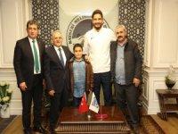 Olimpiyat Şampiyonu Taha Akgül Melikgazi'de