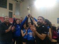 Kayseri OSB Teknik Koleji Atletikspor şampiyon