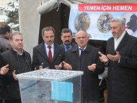 Yahyalı'da Yemen için kermes düzenlendi