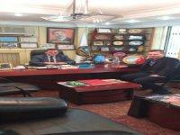 Aydınlıkevler Çorakçılar Mahallesi Muhtar adayı Derviş Doğan,Mustafa Alan'ı ziyaret etti
