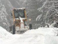 Kayseri'de 191 köy yolu ulaşıma kapandı