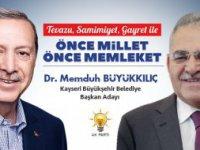 Kayseri Büyükşehir Belediye Başkan Adayı Dr. Memduh Büyükkılıç