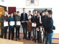 Kayseri OSB Teknik Koleji'nde karneler verildi