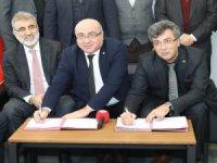 Mimarsinan OSB ile Kayseri Üniversitesi arasında işbirliği ön protokolü imzalandı