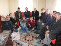 Başkan Öztürk Taşhan'ı ziyaret etti
