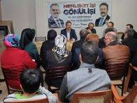 Başkan Palancıoğlu bina toplantısında