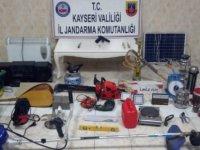 Melikgazi'de 5 ayrı evden hısızlık yapan zanlılar yakalandı
