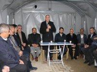 Başkan Öztürk 75. Yıl Mahallesi'nde Projelerini Anlattı