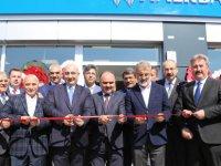 Mimarsinan OSB'de Halk Bankası Şubesi törenle hizmete açıldı