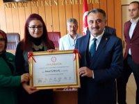Başkan Mehmet Cabbar Mazbatasını Aldı