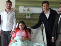 Bebek Hasreti Çeken Anne Bebeğine Kayseri Şehir Hastanesinde Kavuştu