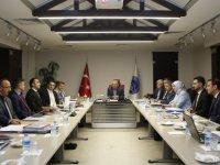 Başkan Büyükkılıç, Gece 00.30'a Kadar Toplantı Yaptı